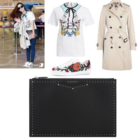 Harga Kaos Givenchy santai pakai kaos fashion keren eun jung t ara ini