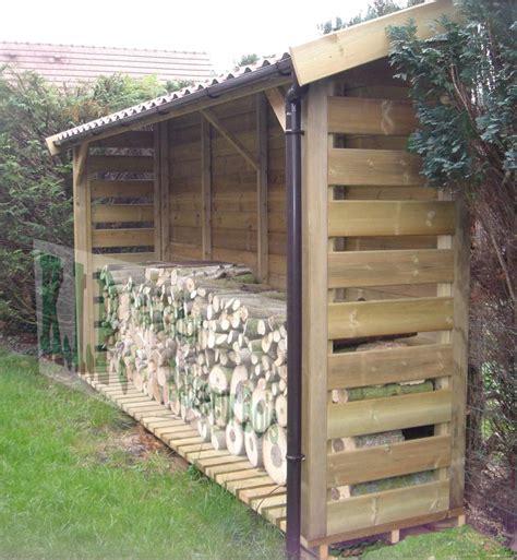 Construire Un Carport Pour Cing Car by Abris Bois Construire Un Abri Pour Le Bois De Chauffage