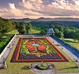 Biltmore Gardens by Carpet Of Flowers At Biltmore House Biltmore House