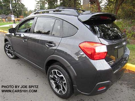 grey subaru crosstrek 2017 subaru 2016 crosstrek options and upgrades photo page 4