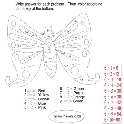 coloring pages devide divisions teacherlingo com