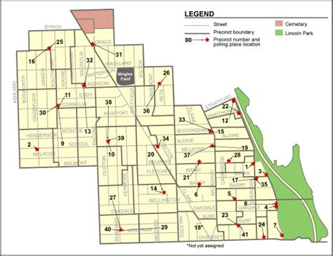 44th ward chicago map chicago 43rd ward precinct map images