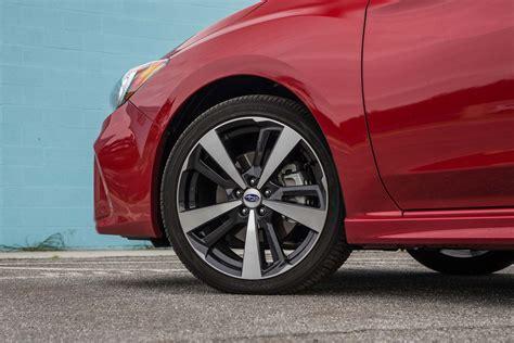 2017 subaru impreza wheels 2017 subaru impreza sedan and hatchback first test