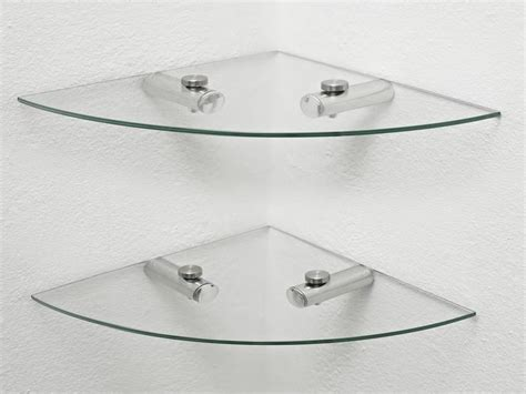 Bathroom Glass Corner Shelves Beautiful Glass Corner Shelf Bathroom Stroovi
