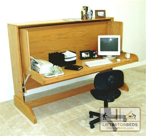 hidden bed desk services by lift stor beds