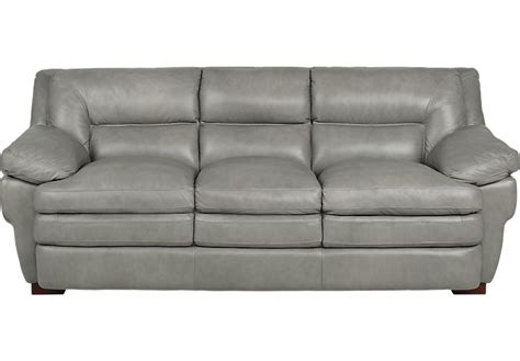 Leather Protection For Sofas by Aventino Gray Leather Sofa Sofas Gray