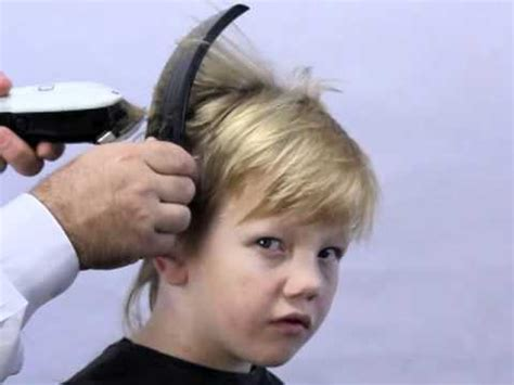 cutting boy hair with scissors how to cut boys hair the new simple way using freestyla