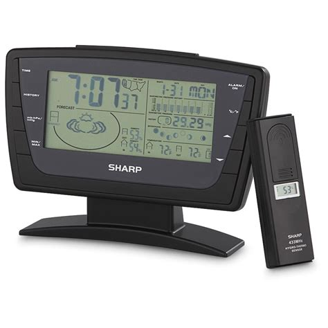 sharp 174 wireless weather station 149781 weather stations