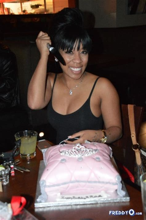 love and hip hop atlanta kmichelle argues with kirk k michelle celebrates birthday in atl with cake friends