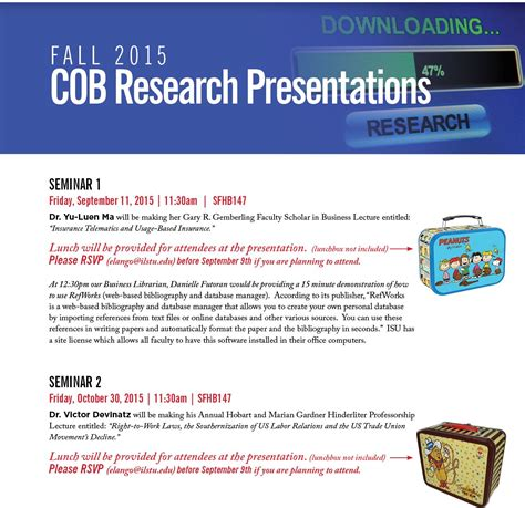 Illinois Institute Of Technology Mba Cost by Cob Research Presentations College Of Business