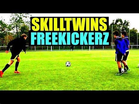 skilltwins football tutorial skilltwins ft freekickerz amazing freekicks tutorials