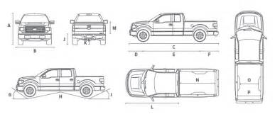 suriname ford f 150 view dimensions specifications