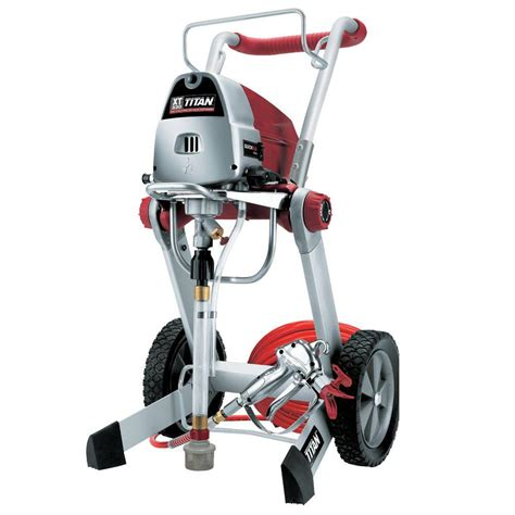 home depot airless paint sprayer reviews titan xt330 paint sprayer 0516013 the home depot