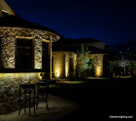 Landscape Lighting System Gambino Landscape Lighting Led Landscape Lighting System In Calabasas California