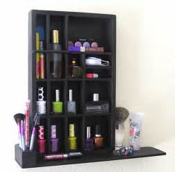 more makeup organizer ideas for a tidy display of