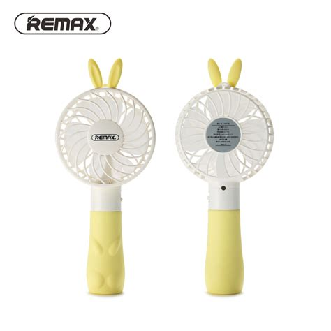 Kipas Angin Baterai remax kipas angin mini bunny usb rechargeable mini fan