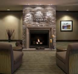 Fireplace mesmerizing stone fireplace on significant living