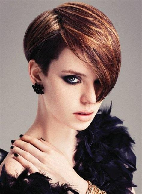 bob shorter on one side haircuts 2014 40 chic short haircuts popular short hairstyles for 2018