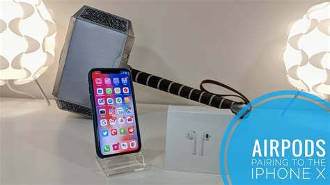 pairing airpods with the iphone x