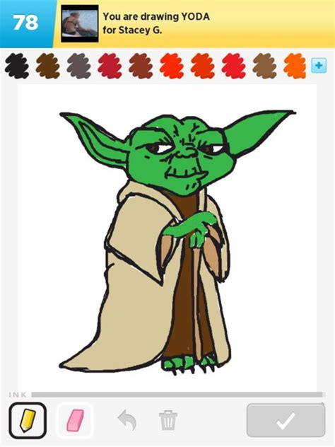 Drawing Yoda by Yoda Drawings How To Draw Yoda In Draw Something The