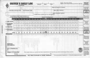 Driver Log Book Template by Interstate Safety Compliance Forms For The Trucking Industry