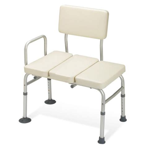padded tub bench guardian padded transfer bench healthcare supply pros