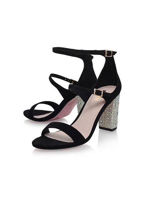 Sandal Geisha carvela geisha high heel sandals black house of fraser