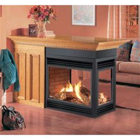 Electric Peninsula Fireplace by 3 Sided Fireplace Design Pictures Remodel Decor And Ideas Dining Rooms