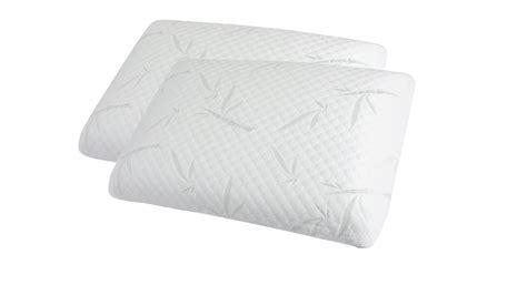 oreillers memoire de forme oreiller cervical memoire de forme bambou ciabiz