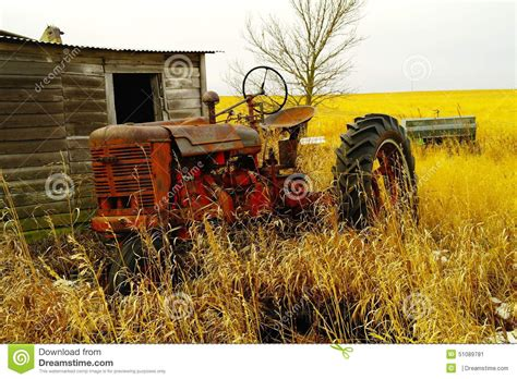 tractor    shed stock image image
