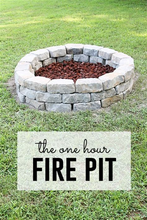 making a fire pit in your backyard 39 diy backyard fire pit ideas you can build