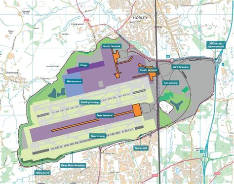 gatwick airport floor plan overview gatwick airport