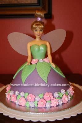 doll design birthday cake cool homemade tinkerbell doll birthday cake