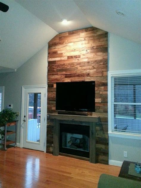 reclaimed wood and stone fireplace wall reclaimed barnwood fireplace wicked old wood co denver