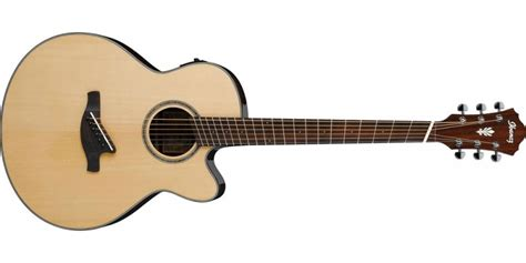fanned fret acoustic guitar ibanez aelff10 nt fanned fret electro acoustic natural