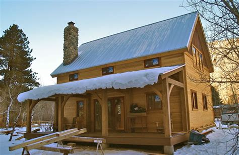 Small Cottage Plans With Porches Brewster Timber Frame Colorado Custom Timber Frame Builder