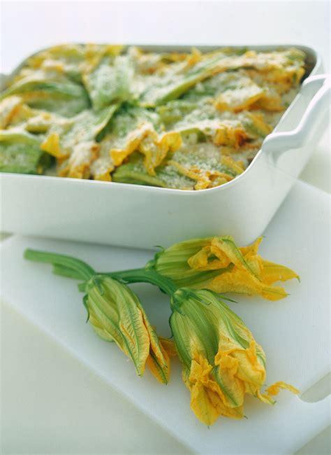 lasagne con zucchine e fiori di zucca lasagne con fiori di zucca pasta lasagne