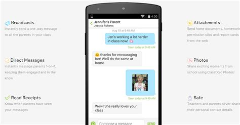 ios message for android classdojo launches stand alone mobile messaging apps for
