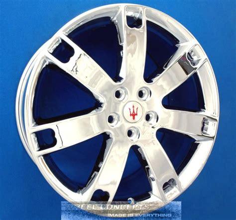 maserati quattroporte chrome purchase maserati quattroporte 20 inch chrome wheels rims