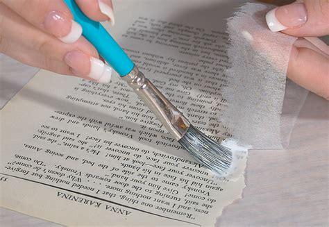 Repairing Torn by The Book Doctor Is In Torn Paper Book Repair