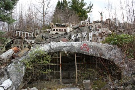 abandoned buildings in ct holy land usa the abandoned christian theme park