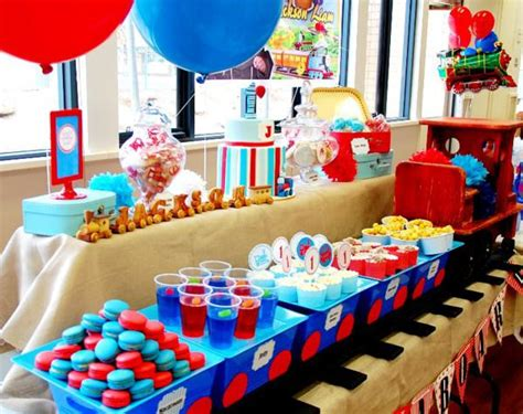 train themed birthday party ideas kara s party ideas train boy themed birthday party