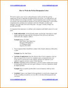 The perfect resignation letter appeal letters sample