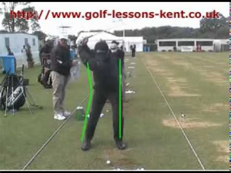 youtube golf swing lessons improve your golf swing golf lesson on the reverse k