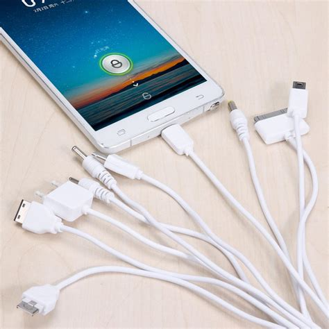 10 in 1 multifunctional universal usb charger data cable 10 in 1 multifunction universal cable charger adapter usb
