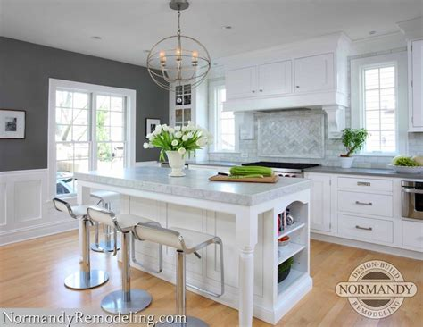 kitchen with gray paint color contemporary kitchen benjamin chelsea gray normandy