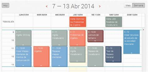 Calendario De Estudio Calendario Prepa Abierta C 243 Mo Organizar Tu Estudio