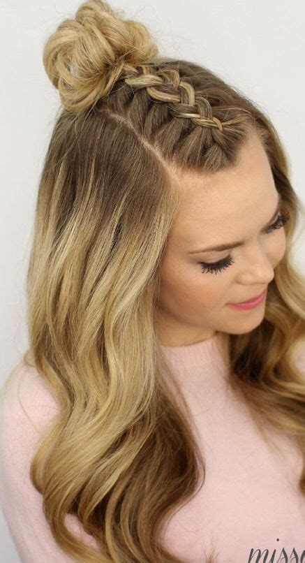 trendy hairstyle looks like a herringbone but with rubberbands latest party hairstyles tutorial step by step 2018 2019