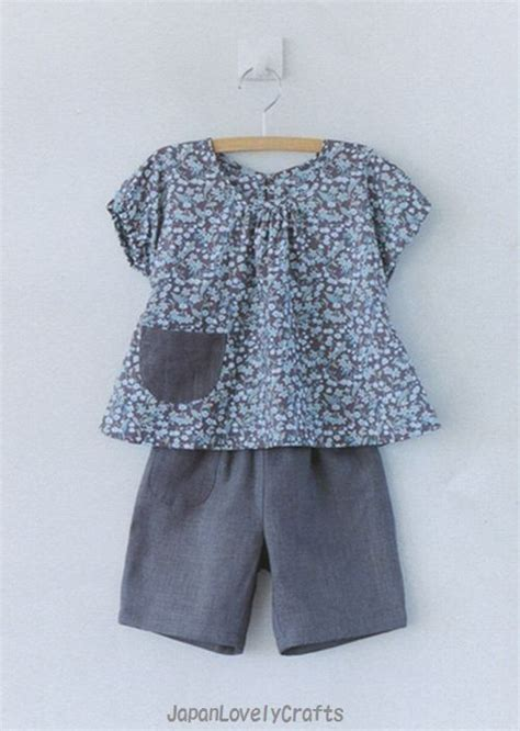 Handmade Clothes Patterns - casual baby clothes patterns japanese sewing pattern book