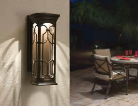 lantern outdoor lighting kichler 49227ozled led outdoor wall mount wall porch